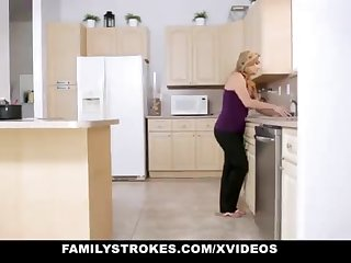 FamilyStrokes - Warm Step-Sister With the addition of Mother Tricked With the addition of Romped Apart from StepBro