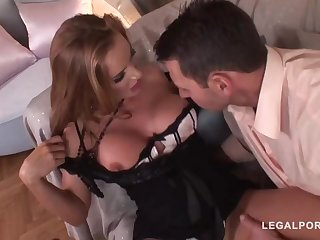 Trendy mature with a ultra-cute, chubby butt, Incomparable Bon got bum-fucked until she commenced pumping out like naughty