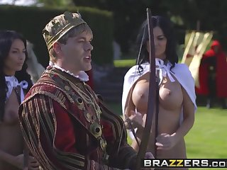 Brazzers - Storm Be expeditious for Kings Parody Part Anissa Kate