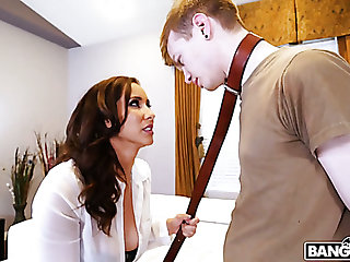 Bad buddy gets punished by fantastic curvy nympho Isis Hallow