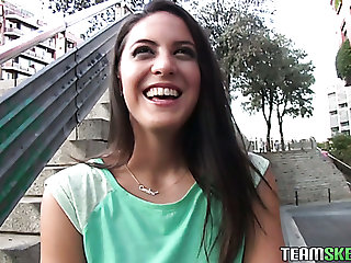 Nice awaiting Carolina Abril can suck strong boner cock almost nonstop