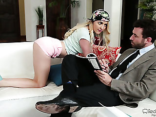 Indicative kinky Iris Rose is ready almost to faint while being analfucked